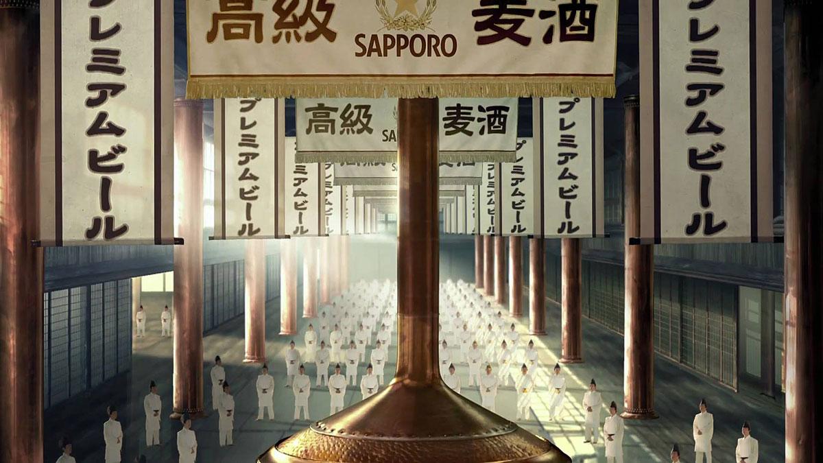 Sapporo Beer - Legendary Biru