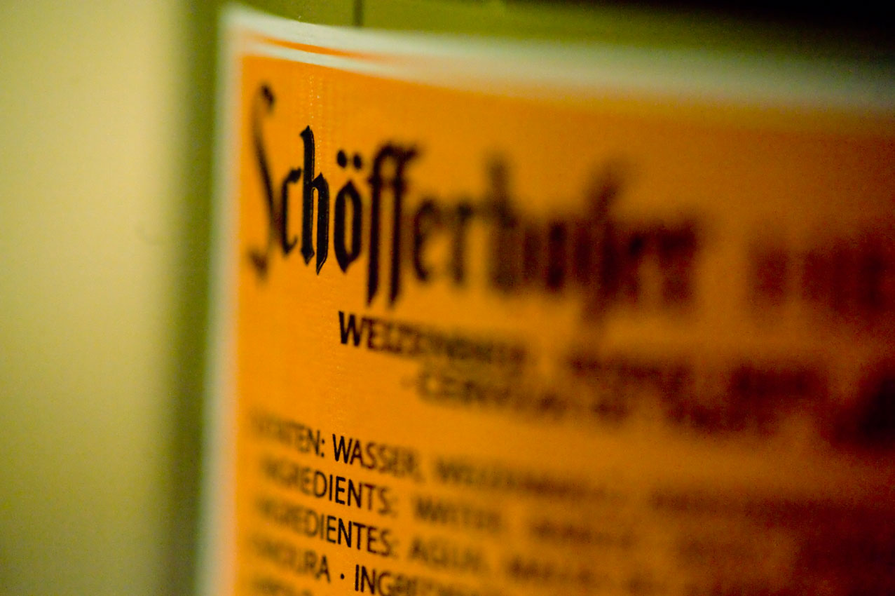 Schöfferhofer Hefeweizen - piwo niemieckie