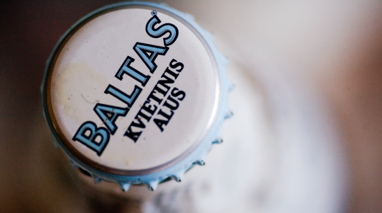 Švyturys Baltas - pszeniczne piwo litewskie