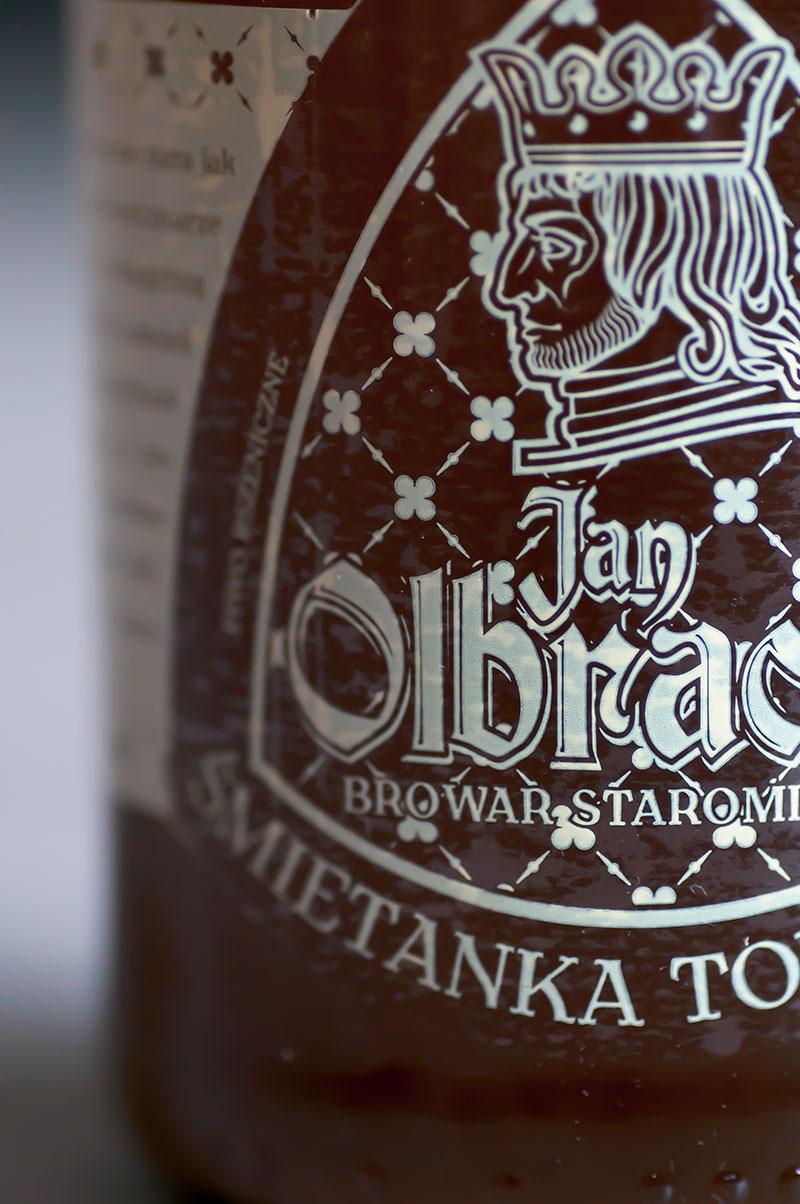 Śmietanka Toruńska - Jan Olbraht - piwo polskie