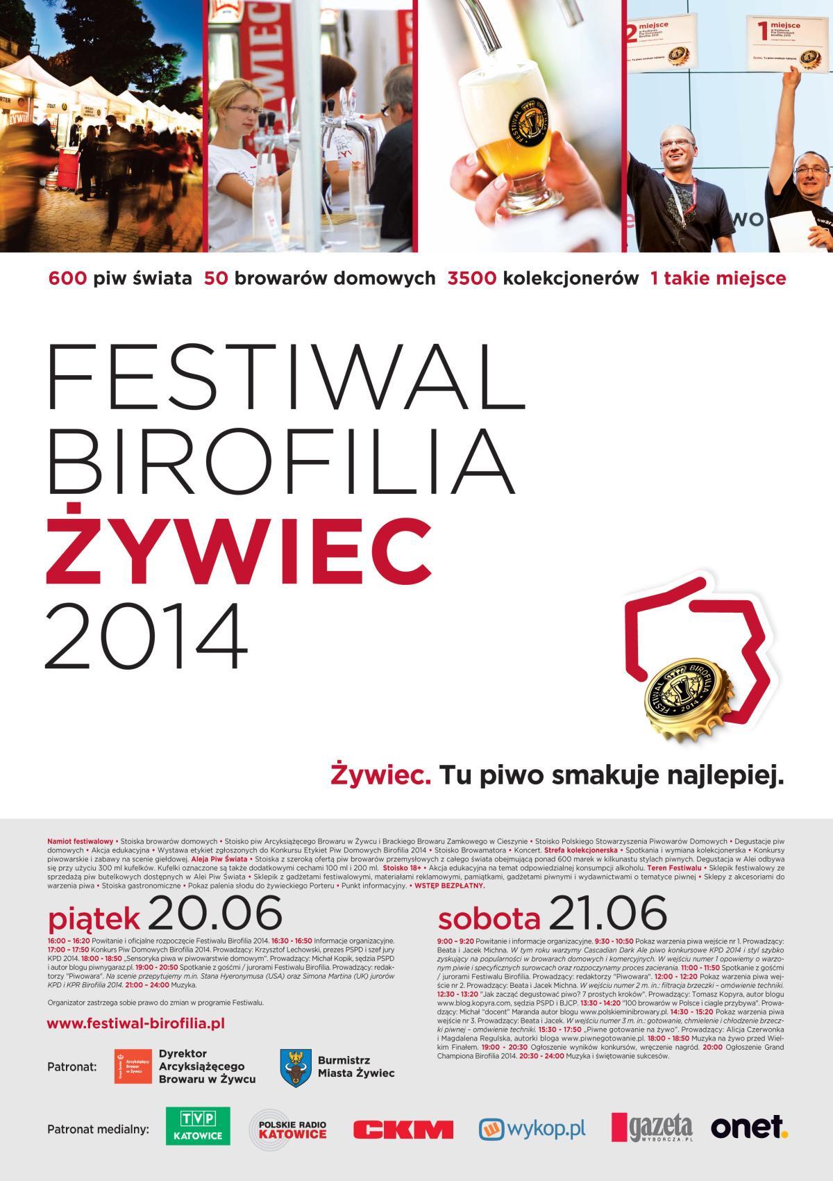 Festiwal Birofilia 2014_Plakat