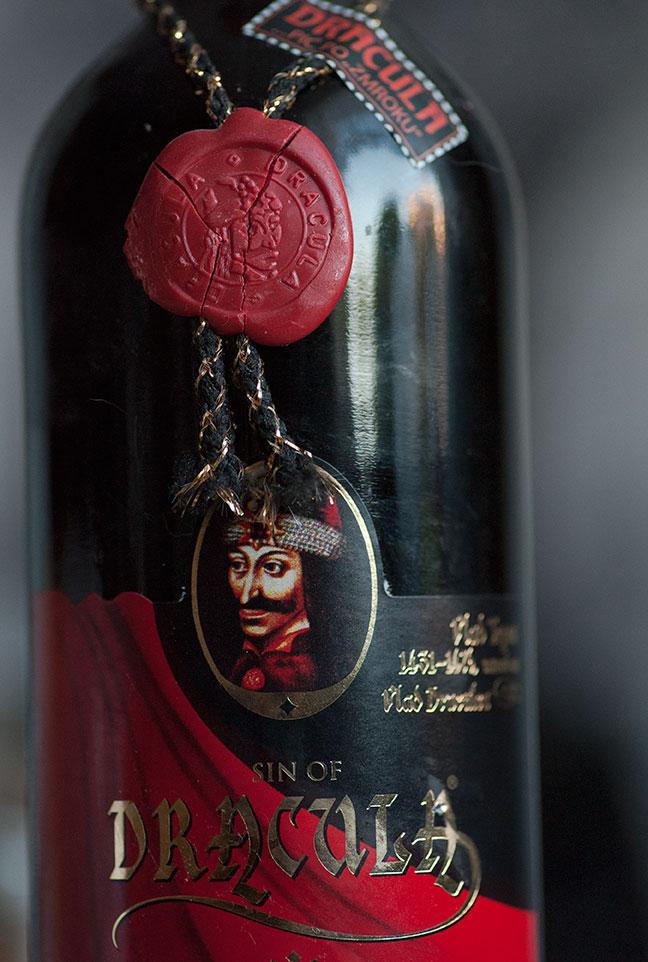 Grzech Drakuli - wino Rumuńskie