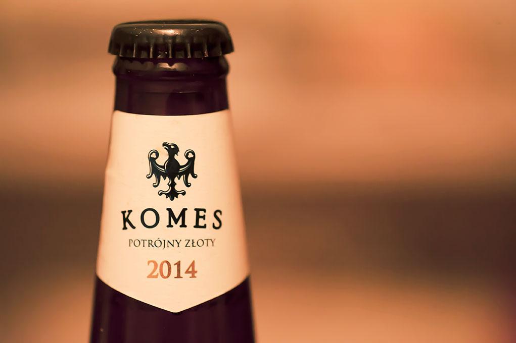 Komes Potrójny Złoty - piwo polskie