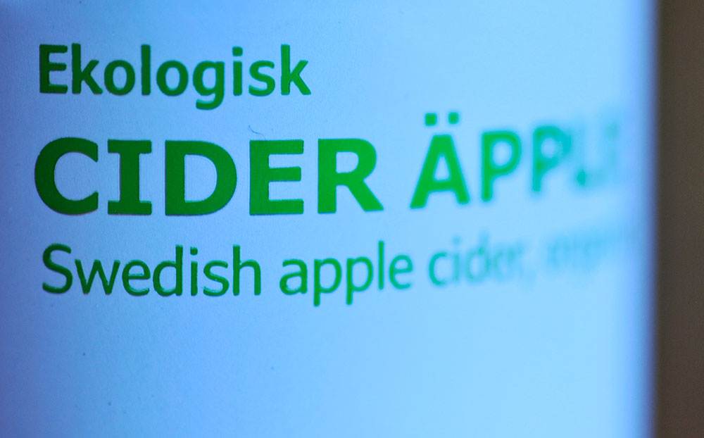 Cider Äpple (IKEA) - cydr szwedzki